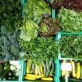 Veggies on Mobile Produce Stand